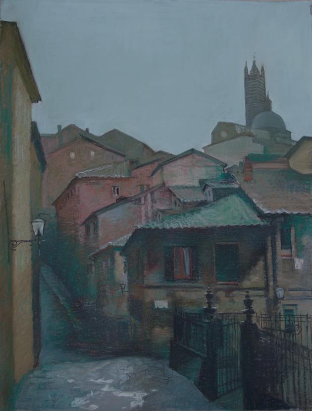 Rain In Siena